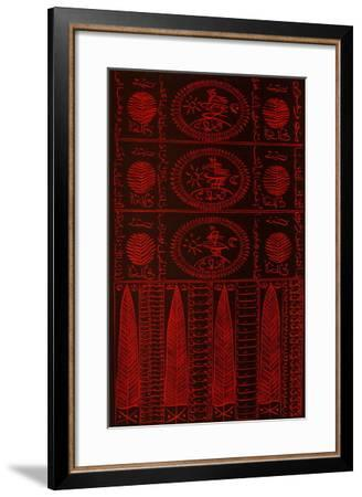 Hommage à Hallaj IV-Rachid Koraichi-Framed Limited Edition