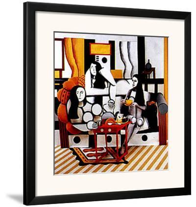 Hommage a Leger-Ryan Rossler-Framed Art Print