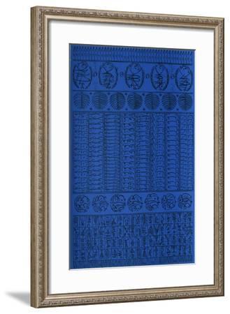 Hommage à Rabia Al Adawiyya II-Rachid Koraichi-Framed Limited Edition