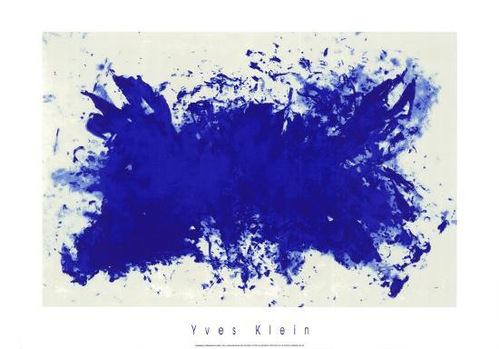 Hommage a Tennessee Williams-Yves Klein-Serigraph