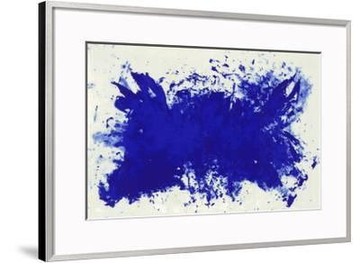 Hommage a Tennessee Williams-Yves Klein-Framed Art Print