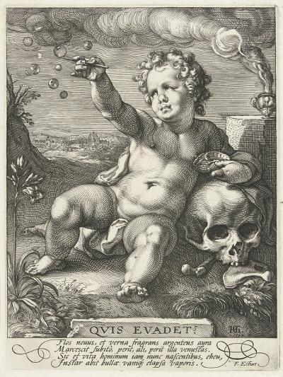 Homo Bulla, 1594-Hendrik Goltzius-Giclee Print
