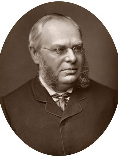 Hon Sir Lewis William Cave, Judge of the High Court of Justice, 1883-Lock & Whitfield-Photographic Print