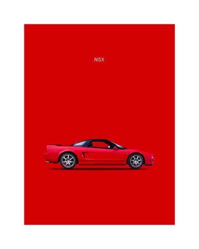 Honda NSX-Mark Rogan-Giclee Print
