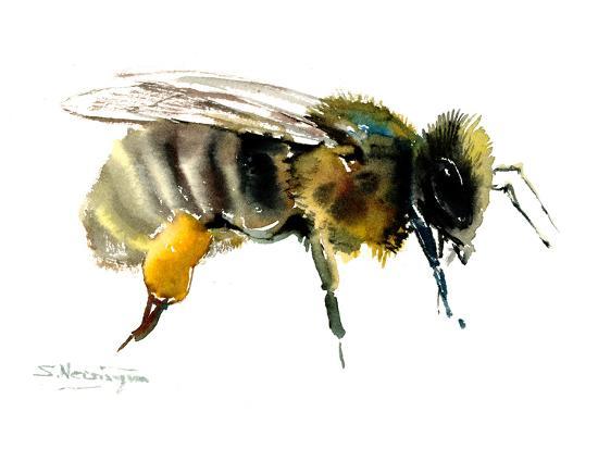 Honey Bee-Suren Nersisyan-Art Print