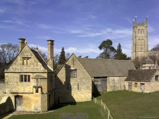 Honey Coloured Stone Buildings, Chipping Campden, the Cotswolds, Gloucestershire, England-David Hughes-Photographic Print