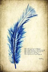 Feather in Color I by Honey Malek