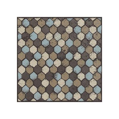 Honeycomb (Blue)-Susan Clickner-Giclee Print