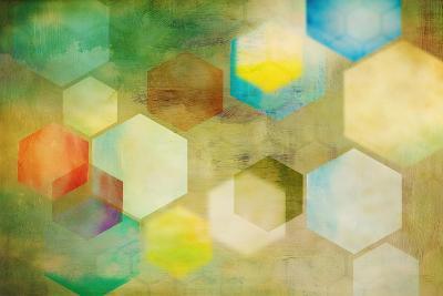 Honeycomb II-Anna Polanski-Art Print