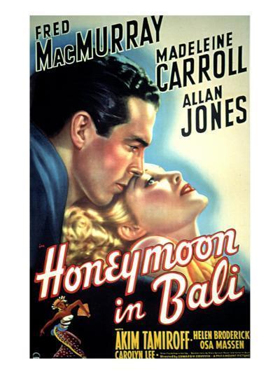 Honeymoon in Bali, Fred MacMurray, Madeleine Carroll, 1939--Photo