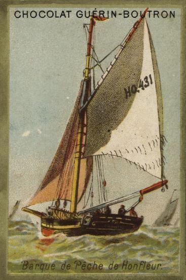 Honfleur Fishing Boat--Giclee Print