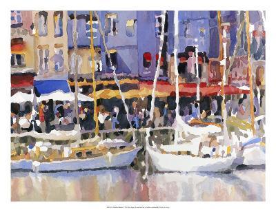 Honfleur Harbor-Edie Fagan-Art Print