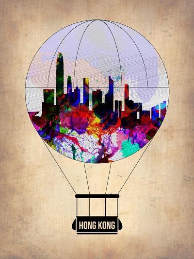 Hong Kong Air Balloon-NaxArt-Art Print