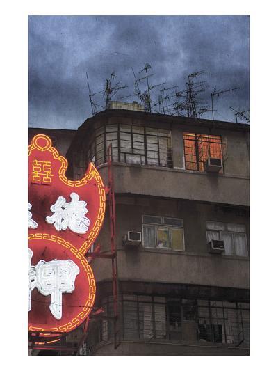 Hong Kong Backstreet 2-Doug Landreth-Premium Photographic Print