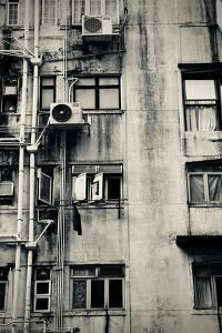 Hong Kong Building BlackandWhite, 2017