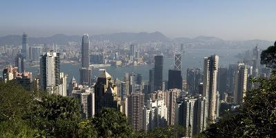 Hong Kong Cityscape; Hong Kong, China-Design Pics Inc-Photographic Print