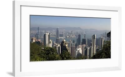 Hong Kong Cityscape; Hong Kong, China-Design Pics Inc-Framed Photographic Print