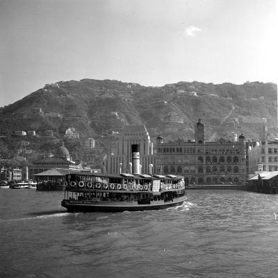 Hong Kong Ferry-Haywood Magee-Photographic Print