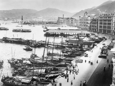 Hong Kong Harbor--Photographic Print
