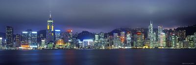 Hong Kong Skyline from Kowloon, China-Jon Arnold-Photographic Print