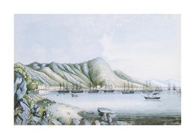 Hong Kong View-Oriental School-Premium Giclee Print
