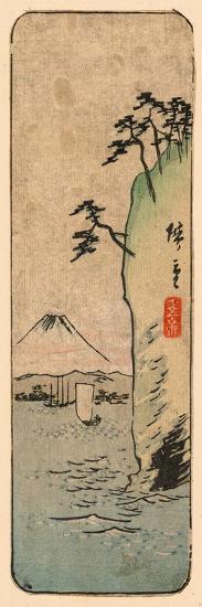 Honmoku Kara No Fuji [O Nozomu]-Utagawa Hiroshige-Giclee Print