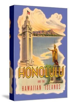 Honolulu and the Hawaiian Islands, Poster