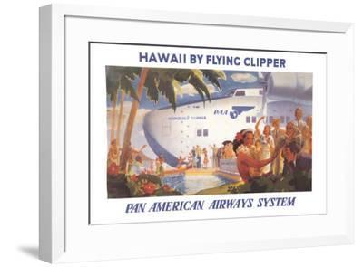 Honolulu Clipper--Framed Art Print