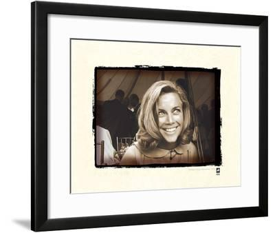 Honor Blackman-British Pathe-Framed Giclee Print