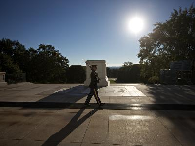 Honor Guard at the Tomb of the Unknowns, Arlington National Cemetery-Stocktrek Images-Photographic Print
