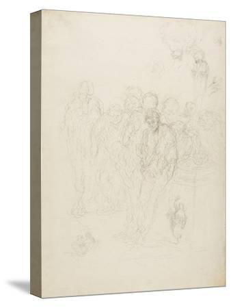 A Group of Men, and Other Sketches, 1857