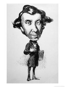Alexis Comte De Tocqueville French Historian by Honore Daumier
