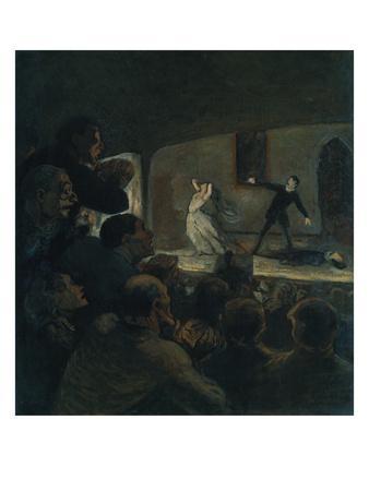 Das Drama. Gegen 1860
