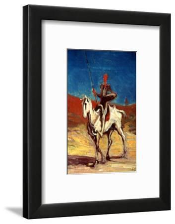 Don Quixote and Sancho Panza, circa 1865-1870