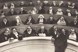 Le Ventre Legislatif (The Legislative Belly) by Honore Daumier, 1834 by Honore Daumier