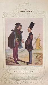 'Les Cent et un Robert Macaire', 1840 (1947) by Honore Daumier
