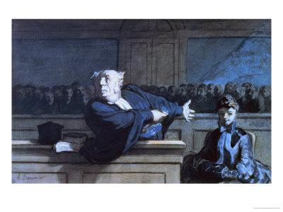 Scene at a Tribunal