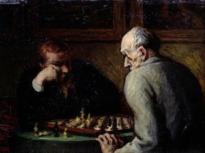 The Chess Players, circa 1863-67