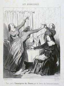 The Emancipation of Women by Honore Daumier