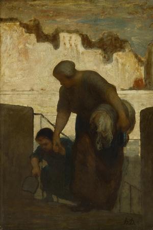 The Laundress, Ca 1863