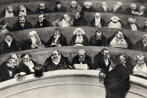 The Legislative Belly, 1834 by Honore Daumier