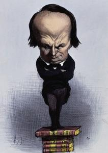 Victor Hugo by Honore Daumier