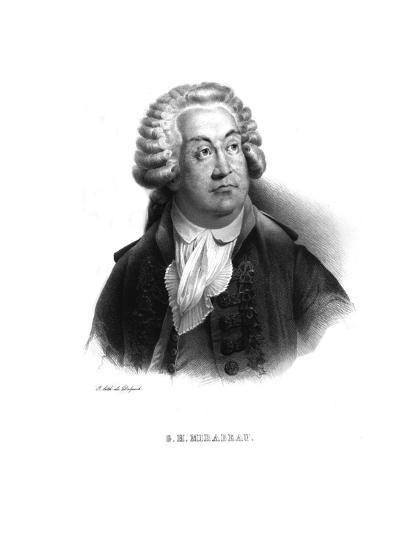 Honore-Gabriel de Riquetti, comte de Mirabeau, (c1820s)-Unknown-Giclee Print
