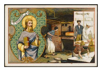 Honorius Patron Saint--Giclee Print