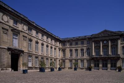 Honour Courtyard of Chateau De Compiegne, Picardy, France--Giclee Print