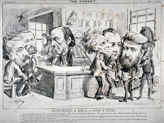 Honouring a Bill - and a Tom, 1869-F Poublon-Giclee Print