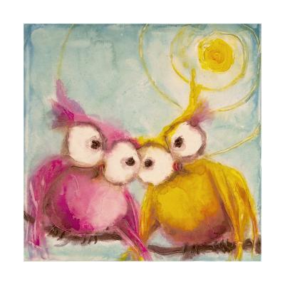 Hoo Loves You-Marabeth Quin-Art Print