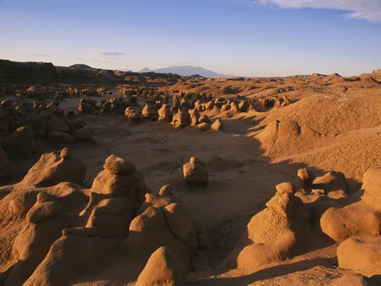 Hoodoos Cover the Landscape of Goblin Valley State Park, Utah-Michael S^ Lewis-Photographic Print