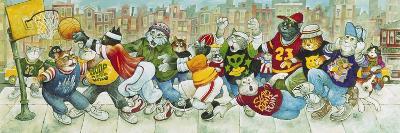 Hoop Cats-Bill Bell-Giclee Print