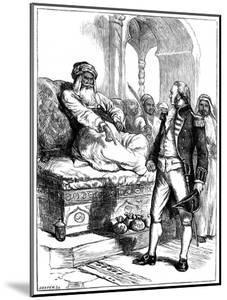 Captain Bainbridge and the Dey of Algiers, 1800 by Hooper
